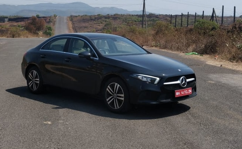 The Mercedes-Benz A-Class Limousine will be offered in both petrol and diesel variants.