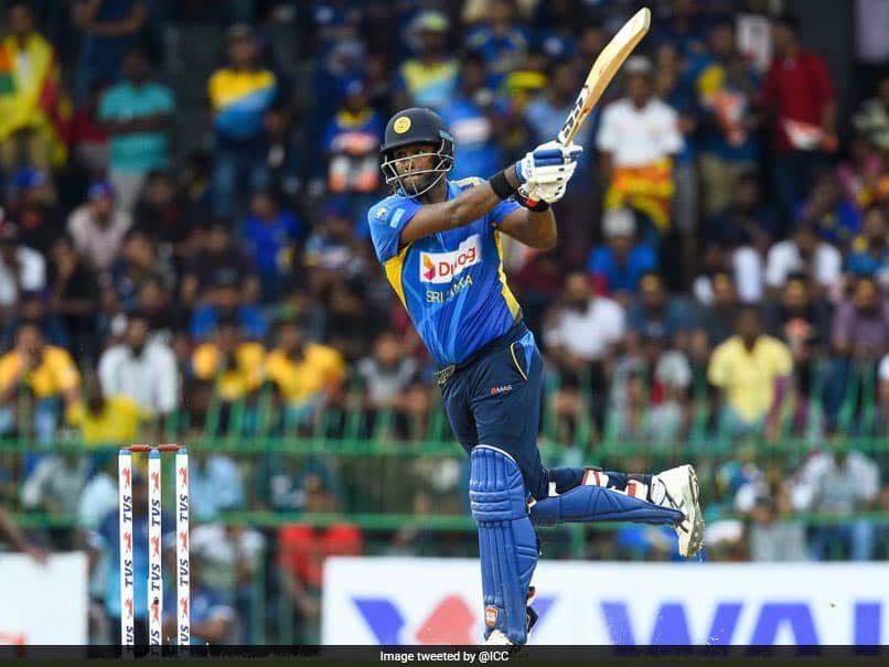 Angelo Mathews Named Sri Lankas Stand-In Captain For T20I Series vs West Indies