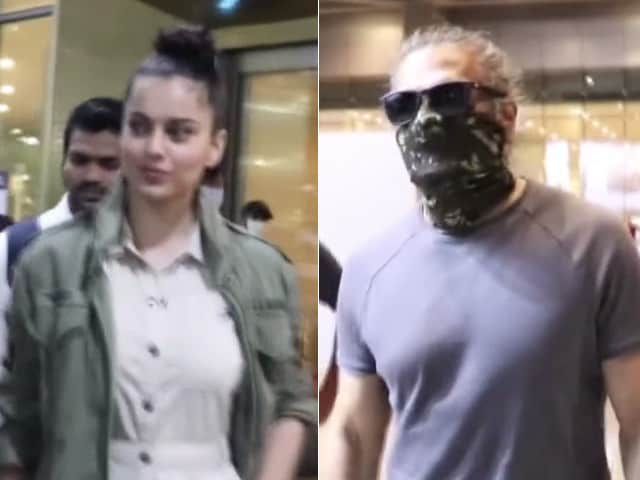 Video : From Kangana Ranaut, Suniel Shetty's Airport Diaries