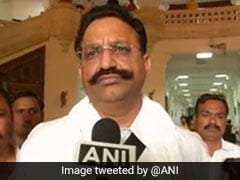 "UP Slams Punjab For Calling Gangster Mukhtar Ansari ""Small Fry"", ""Shamelessly"" Protecting Him"