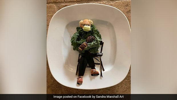 Viral: Edible Bernie Sanders Salad Made With Veggies Is The Newest Entry Into The Meme Fest; Take A Look