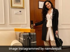 No One Travels Quite As Fashionably As Shraddha Kapoor In A Chic Winter Look