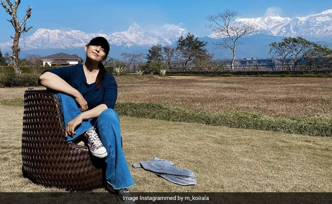 Living The Nomadic Life, Manisha Koirala Is On A 'Soul Searching' Quest