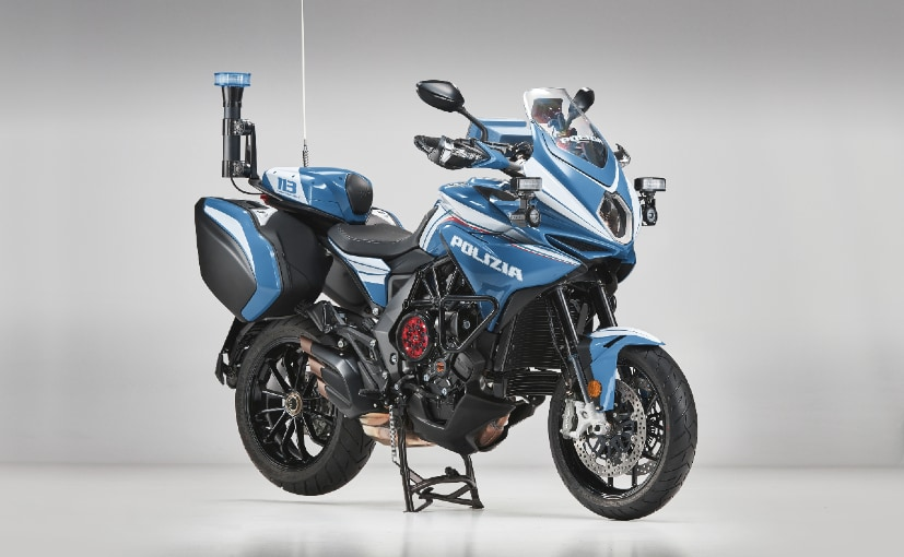Four bikes were handed over to the Italian police in Milan