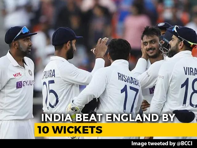 Video : India Crush England By 10 Wickets In Rare 2-Day Test Win