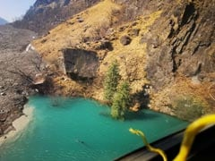 ITBP, Disaster Response Team Work To Widen Flow Of Uttarakhand Lake