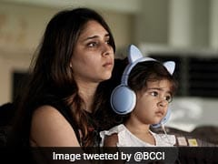 "IND v ENG, 1st Test: ""Cute Little Supporter"": Rohit Sharma's Wife Ritika, Daughter Samaira Spotted In Stands On Day 3"