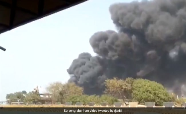 Watch: Massive Fire At Mumbai Godown, 16 Fire Engines At Spot