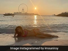 Mouni Roy's Bikini Look From Her Dubai Holiday Is Picture Perfect