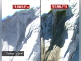 Video : New Satellite Images Show Uttarakhand Avalanche's Path Of Destruction