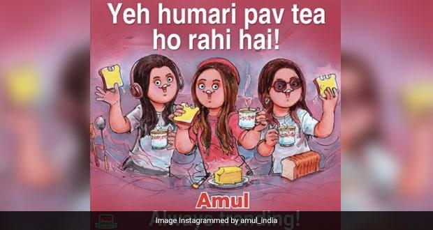 Viral Now: Amul Joins 'Pawri Ho Rahi Hai' Meme Fest; Internet Amused
