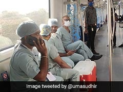 In A First, Hyderabad Metro Train Transports Live Heart For Transplant
