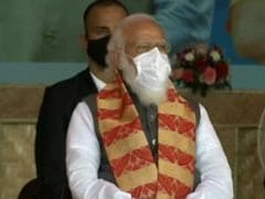 """""""India Won't Let Conspiracies Win"""": PM As He Launches Key Assam Projects"""