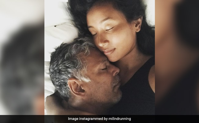 'My Favourite Place Is In Your Arms': Milind Soman's Loved-Up Post For Wife Ankita Konwar