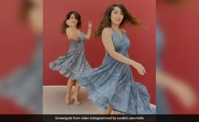 चिंकी मिंकी ने ग्रे आउटफिट में 'फकीरा' सॉन्ग पर यूं झूमकर किया डांस, Video खूब हो रहा है वायरल