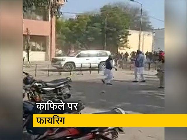 Videos : पंजाब में सुखबीर सिंह बादल के काफिले पर हमला