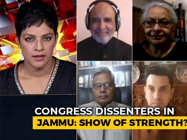 Video : Congress Dissenters' Message To Central Leadership?