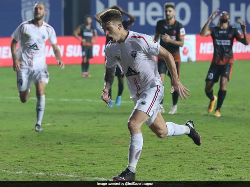 ISL: Federico Gallego Runs The Show As NorthEast United FC Battle Back To Hold FC Goa