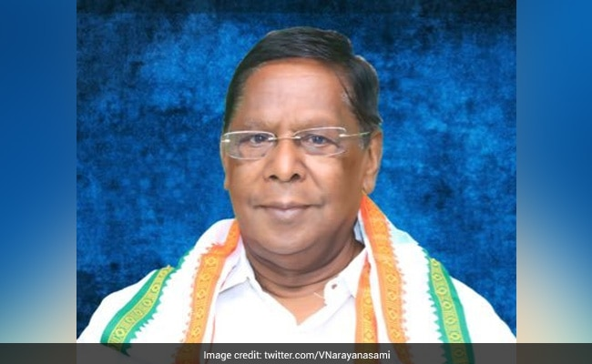 Will Turn Down Offer Of Puducherry Chief Minister's Post: Congress Leader V Narayanasamy