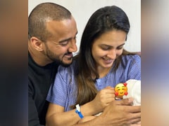 """New Mommy"" Anita Hassanandani Shares First Pic Of Baby Boy"