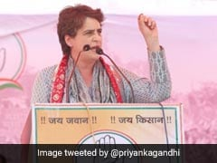 Priyanka Gandhi Vadra Stops Speech After Rape Survivor's Mother Raises Slogans