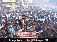 """T Natarajan """"Ecstatic And Extremely Surprised"""" By Reception In Hometown, Tweets Pics"""