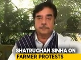 """Video : """"Was PM's 'Trump <i>Sarkar</i>' Motto Interference"""": Shatrughan Sinha On Farmers"""