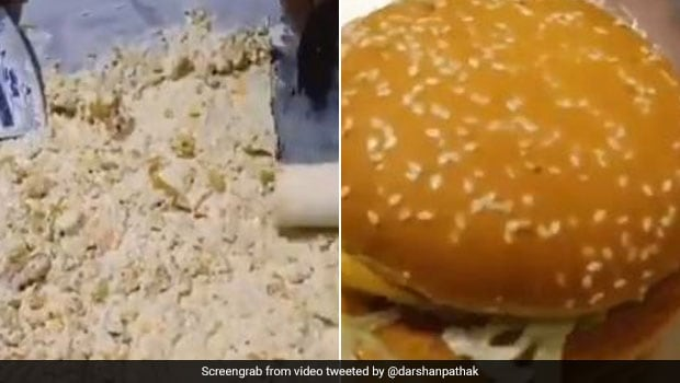Viral Video Of Ice Cream Made With McDonald's Burger Horrifies Twitter