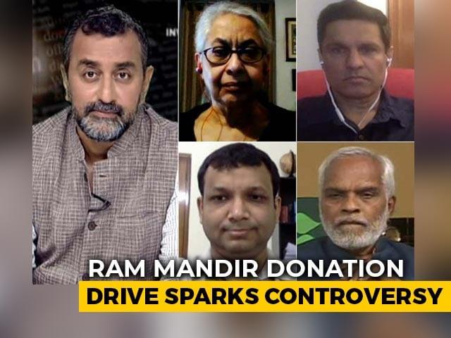 Video : Reality Check: Controversies Surrounding Ram Mandir Donation Drive