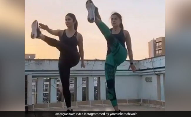 Dare To Try Katrina Kaif's Work Out Routine?