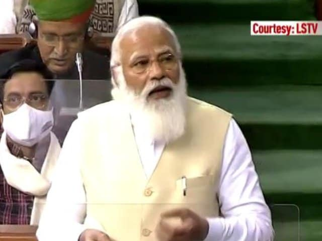 """Video : PM's """"Planned Strategy"""" Charge On Farm Laws; Congress, Trinamool Walk Out"""