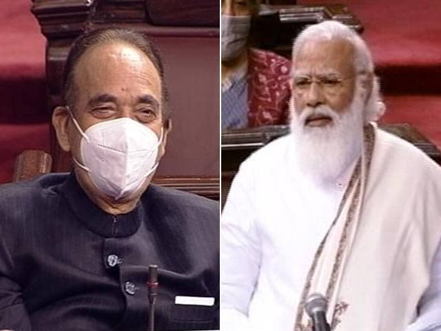 "Video : PM Praises Ghulam Nabi Azad In Parliament, Adds ""G-23"" Taunt At Congress"