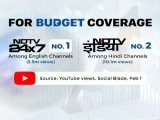 Video : On Budget Day, NDTV 24x7 Most Viewed English Channel On YouTube