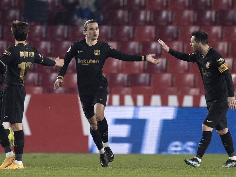 Copa del Rey: Antoine Griezmann Double Inspires Barcelona Comeback Against Granada