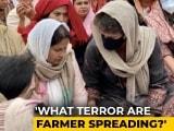 Video : Priyanka Gandhi Vadra Meets Family Of Farmer Who Died In R-Day Violence