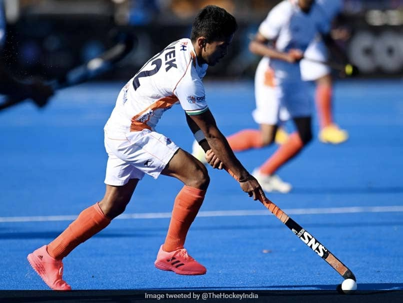 Indian Mens Hockey Team Hammer Germany In Return To International Competition