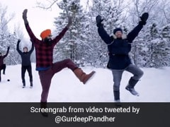 Canadians Join Bhangra Class In Snow. Ryan Reynolds 'Likes' This Video