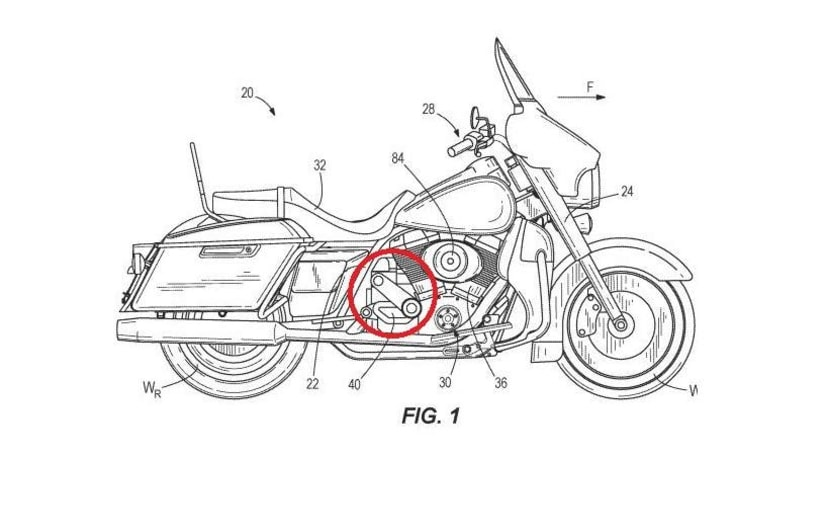 Latest patent filings show Harley-Davidson's supercharged v-twin engine