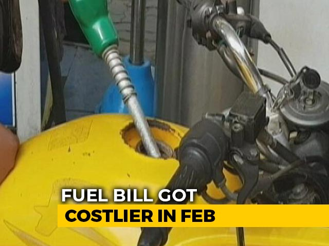 Video: Fuel Bill Got Costlier By Rs 4 Per Litre In February, How It Affects You