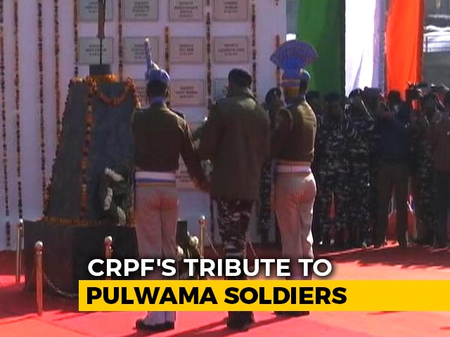 "Video : ""Did Not Forgive, Will Not Forget"": CRPF's Tribute To Pulwama Soldiers"