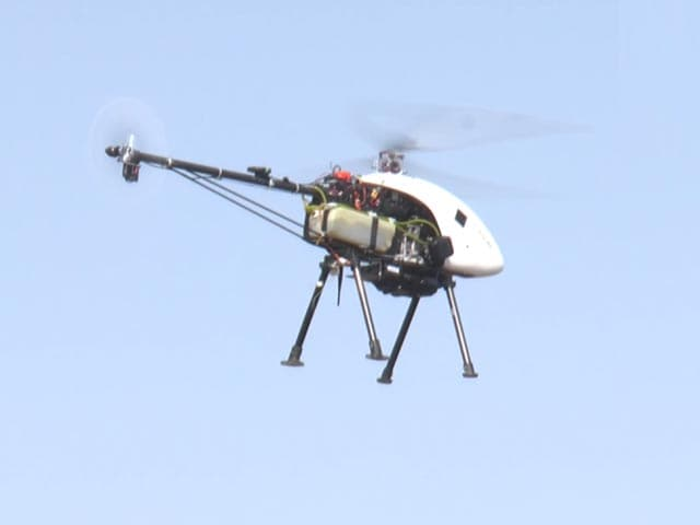 Video : IIT-Kanpur Develops Unmanned Drone-Helicopter