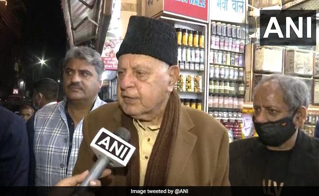 Farooq Abdullah Advocates Dialogue With Pak To End Terrorism In Jammu And Kashmir