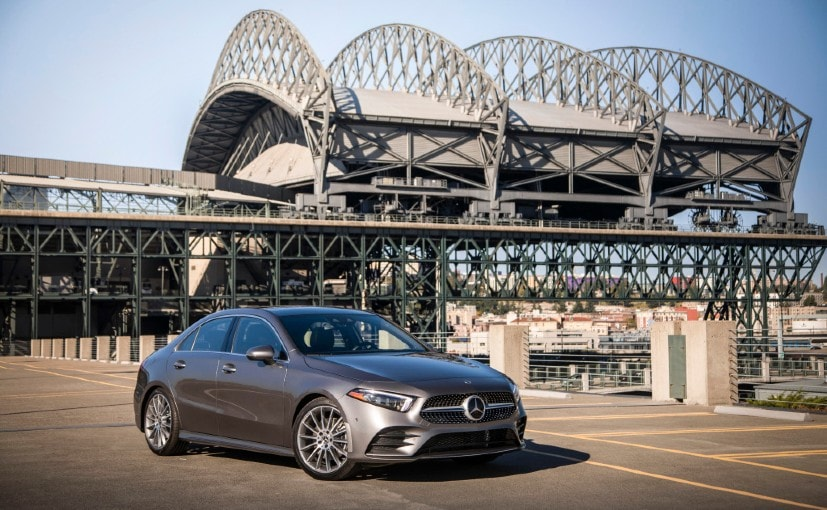 The Mercedes-Benz A-Class Limousine will be the brand's most affordable luxury saloon on sale