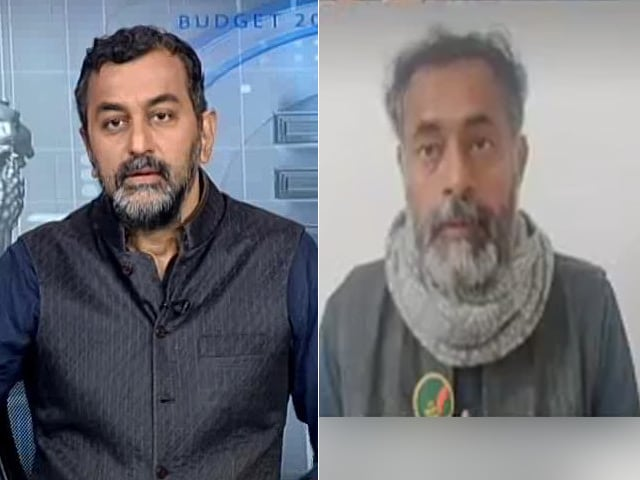 """Video : """"Budget Allocations More Important Than Gestures For Farmers"""": Yogendra Yadav"""