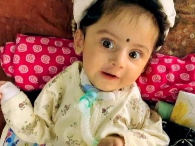 Video : Parents Crowdfund ₹ 16 Crore To Treat 5-Month-Old Daughter, Thank Donors