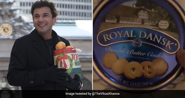 Celeb Chef Vikas Khanna Shares 'Cookie Box' Video, Twitter Can Relate