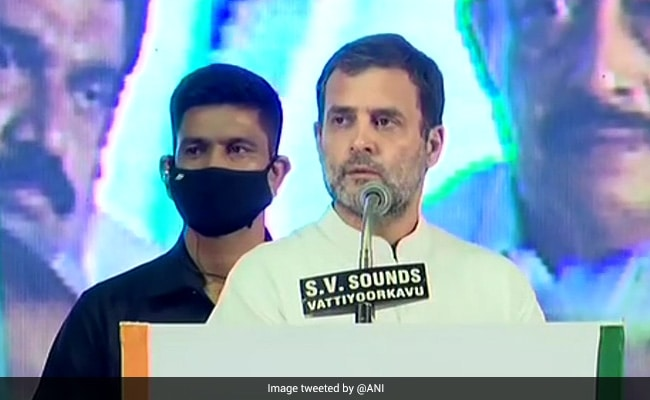 After Rally, Rahul Gandhi Visits Protesting Job Seekers In Kerala