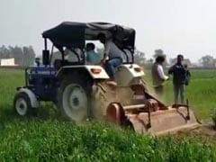 """Rakesh Tikait Clarifies As """"Burn Crop"""" Warning Taken Literally In Haryana"""