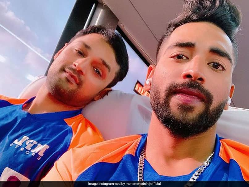 """India vs England: Mohammed Siraj Poses With """"Partner In Crime"""" Shahbaz Nadeem. See Pic"""