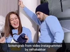 Neha Kakkar And Rohanpreet Singh Are Twinning And Winning This Valentine's Week